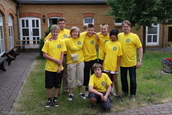 Das schwedische Team